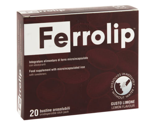 Ferrolip orosolubile
